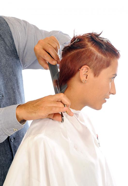 Short side with comb Preciscut Large Section 2 (triangular)
