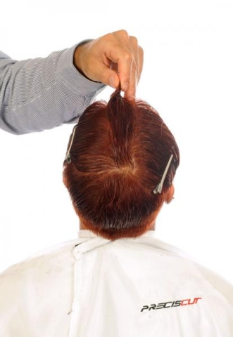 We perform a central division and short projection geometry with comb Preciscut