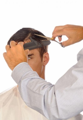 Short and high ends of Peak neck comb Preciscut Now with Extra Large Section 3